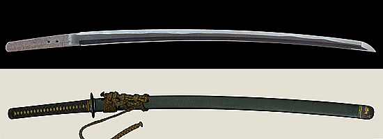 備前国住長船五郎左衛門尉清光作 天文一七年八月日Bizenkoku jyu Osafune Gorousaemonno jyo Kiyomitsu Saku A.D.1548