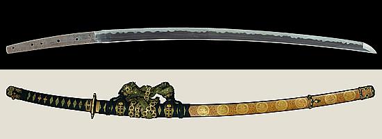 濃州関住兼定作 大永二年壬午二月日Noushu Seki jyu Kanesada saku A.D.1522