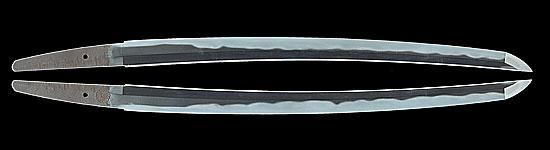 井上真改 井上和泉守国貞 (菊紋)寛文十二年二月日Inoue Shinkai  Inoue Izuminokami Kunisada A.D.1672