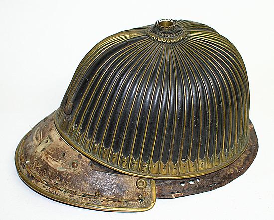 鉄黒漆塗62間総覆輪筋兜鉢 62 plate soufukurin Suji helmet
