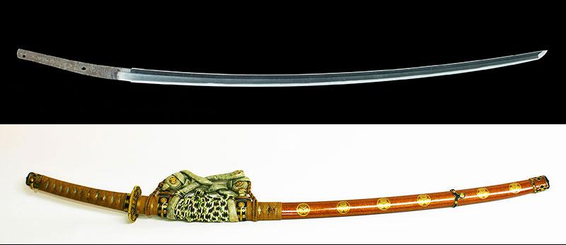 長光 重要美術品 徳川家重公佩刀Nagamitsu Owned by Tokugawa Ieshige
