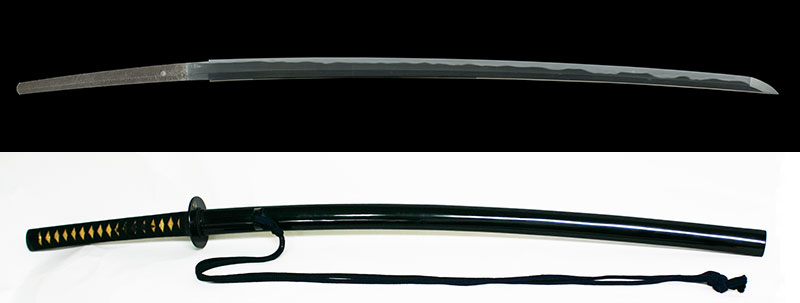 筑州住左行秀 安政三年二月吉日Chikushu ju Sano Yukihide A.D.1856