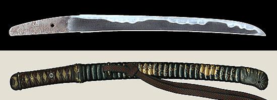 美濃国住兼景 天正二二年八月日Minokuni jyu Kanekage A.D.1576
