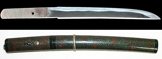 備州之住長船十郎左衛門藤原春光作 天正二二年八月吉日Bishu no jyu Osafune Jyurouzaemon Fujiwara Harumitsu A.D.1576