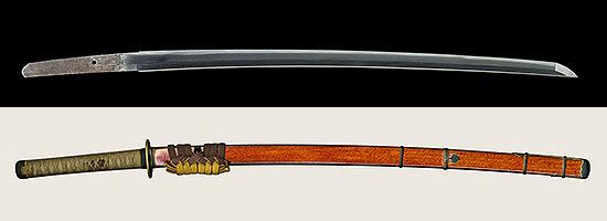 備州長船清光作 永禄八年二月日Bizenkoku jyu Osafune Kiyomitsu A.D.1565