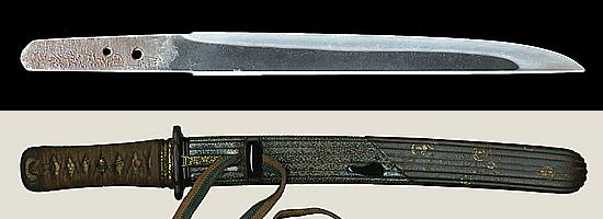 備前国長船祐定作 天正六年八月日BIzenkoku Osafune Sukesada saku A.D. 1578