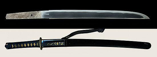 手柄山正繁 寛政五年六月吉日Tegarayama Masashige A.D.1665
