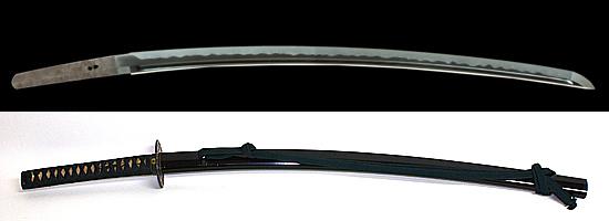 備前国住長船清光作 永禄五年八月吉日Bizenkoku jyu Osafune Kiyomitsu A.D.1562