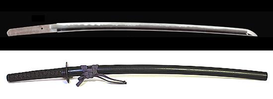 備前国住長船祐定作 永禄十年八月日Bizenkoku jyu Osafune Sukesada saku A.D.1567