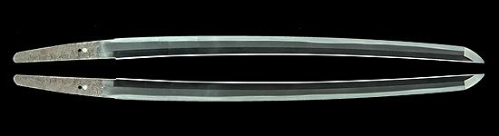井上和泉守国貞 (菊紋)寛文十一年八月日Inoue Izumikami Kunisada (Kiku seal)A.D.1671