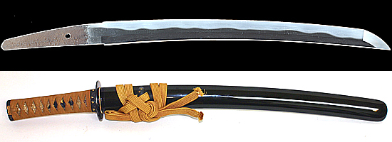 井上和泉守国貞(井上真改)  (菊紋)寛文十年八月日Inoue Izuminokami Kunisada A.D.1670