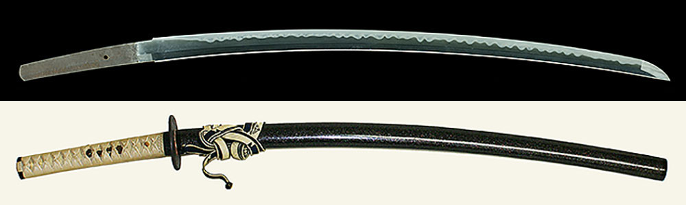 備州長船祐定作 永六二年二月日Bishu Osafune Sukesada saku A.D.1559